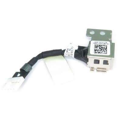 Maitinimo lizdas (DC jack) Dell Latitude 11 3150 3160 8TJD5 XPS11 450.02106.1001 (su kabeliu) 2