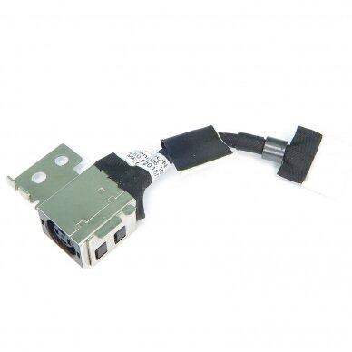 Maitinimo lizdas (DC jack) Dell Latitude 11 3150 3160 8TJD5 XPS11 450.02106.1001 (su kabeliu) 3