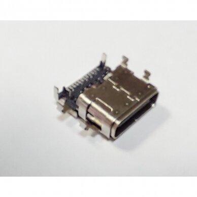 Maitinimo lizdas (DC Jack) Lenovo ThinkPad E480 E485 E580 E585 R480 E590 USB-C TYPE-C 3