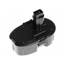 Baterija (akumuliatorius) GC elektriniam įrankiui DeWalt DC020 DC212 3000mAh 18V