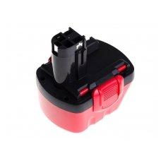 Baterija (akumuliatorius) GC elektriniam įrankiui Bosch O-Pack 3300K PSR 12VE-2 GSB 12 VSE-2 2000mAh 12V