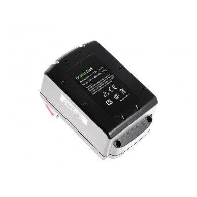 Baterija (akumuliatorius) GC elektriniam įrankiui Milwaukee C18 M18 18V 4000mAh 2