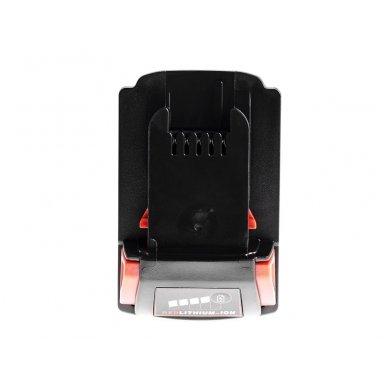Baterija (akumuliatorius) GC elektriniam įrankiui Milwaukee C18 M18 18V 4000mAh 3
