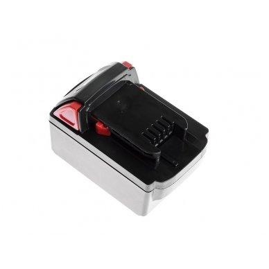 Baterija (akumuliatorius) GC elektriniam įrankiui Milwaukee C18 M18 18V 4000mAh