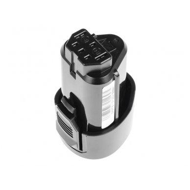 Baterija (akumuliatorius) GC elektriniam įrankiui AEG BBH12 BBS12C BBS12C2 BS12C BS12C2 BSB12C BSB12C2 OMNI 12C 12V 1500mAh 2