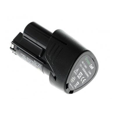 Baterija (akumuliatorius) GC elektriniam įrankiui Milwaukee C12 M12 12V 2000mAh 2