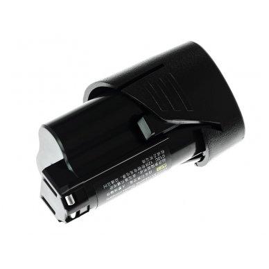 Baterija (akumuliatorius) GC elektriniam įrankiui Milwaukee C12 M12 12V 2000mAh 3