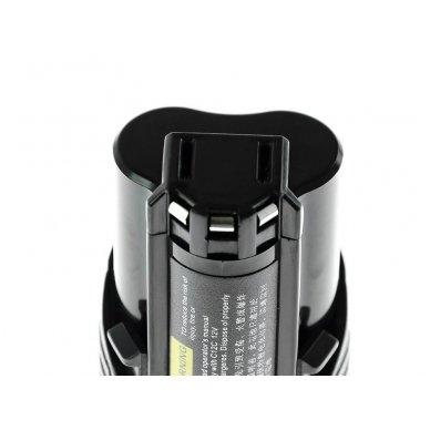 Baterija (akumuliatorius) GC elektriniam įrankiui Milwaukee C12 M12 12V 2000mAh 4