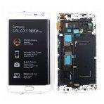 Samsung Galaxy Note Edge ekrano modulio (baltas) keitimas