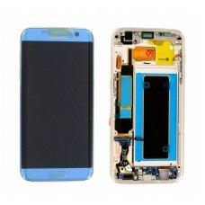 Samsung Galaxy S7 Edge SM-G935F ekrano modulio (mėlynas) keitimas