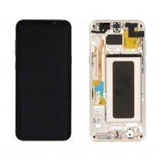 Samsung Galaxy S8 Plus SM-G955F ekrano modulio (auksinis) keitimas