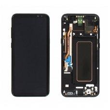 Samsung Galaxy S8 Plus SM-G955F ekrano modulio (juodas) keitimas