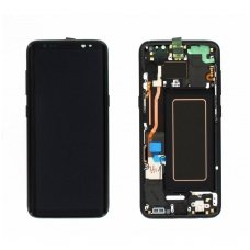 Samsung Galaxy S8 SM-G950F ekrano modulio (juodas) keitimas