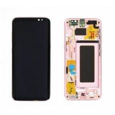 Samsung Galaxy S8 SM-G950F ekrano modulio (rausvas) keitimas
