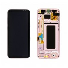 Samsung Galaxy S8 Plus SM-G955F ekrano modulio (rausvas) keitimas