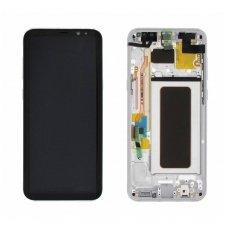 Samsung Galaxy S8 Plus SM-G955F ekrano modulio (sidabrinis) keitimas
