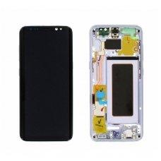 Samsung Galaxy S8 SM-G950F ekrano modulio (violetinis) keitimas