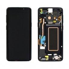 Samsung Galaxy S9 SM-G960F ekrano modulio (juodas) keitimas