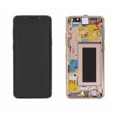 Samsung Galaxy S9 Plus ekrano modulio (auksinis) keitimas