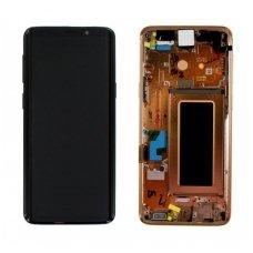 Samsung Galaxy S9 SM-G960F ekrano modulio (auksinis) keitimas