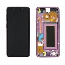 Samsung Galaxy S9 SM-G960F ekrano modulio (violetinis) keitimas