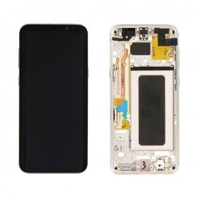 Samsung Galaxy S8 Plus ekrano modulio (auksinis) keitimas