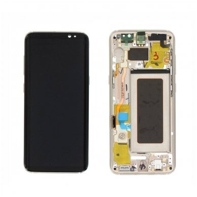 Samsung Galaxy S8 ekrano modulio (auksinis) keitimas