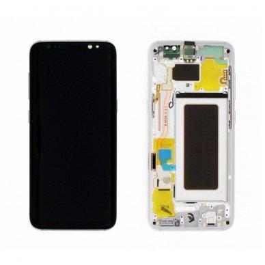 Samsung Galaxy S8 ekrano modulio (sidabrinis) keitimas
