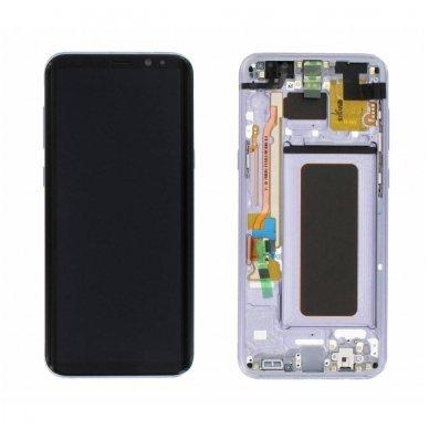Samsung Galaxy S8 Plus ekrano modulio (violetinis) keitimas