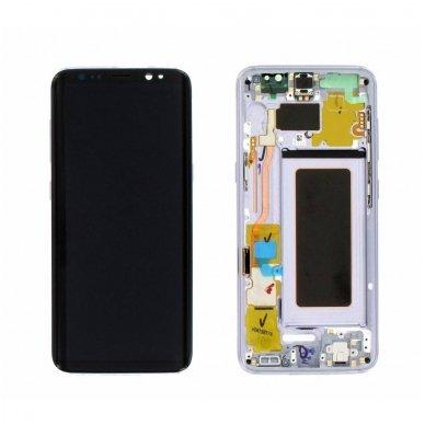 Samsung Galaxy S8 ekrano modulio (pilkas) keitimas