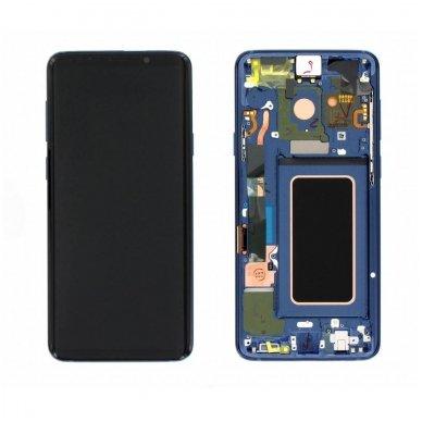 Samsung Galaxy S9 Plus ekrano modulio (mėlynas) keitimas