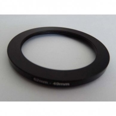 Filtro adapteris 62mm-49mm