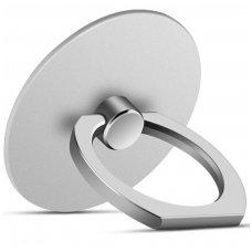 Telefono laikiklis-žiedas-stovas apvalus pilkas