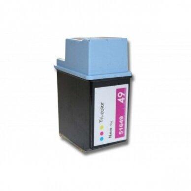 Rašalo kasetė HP Nr.49, spalvota