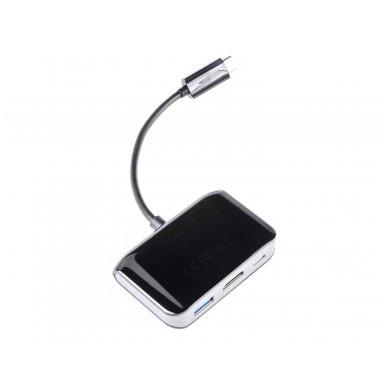 USB-C HUB Romoss HDMI 4K, USB-A 3.0, USB-C 2