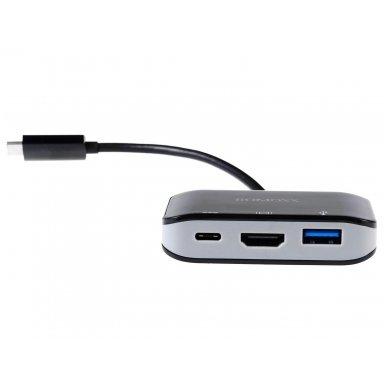 USB-C HUB Romoss HDMI 4K, USB-A 3.0, USB-C 3