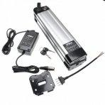 Baterija (akumuliatorius) elektriniam dviračiui Li-Ion, 36V, 8.8Ah (tvirtinama prie sėdynės vamzdžio, + kroviklis)